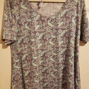 Lularoe Perfect Tee, XL